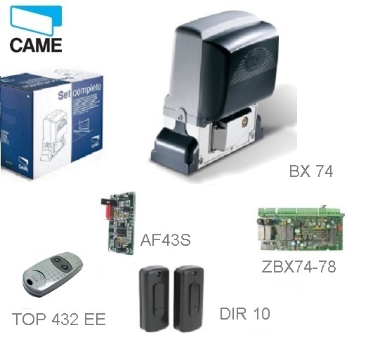 CAME  BX-74 KIT - 1x BX-A, 1x ZBX-7,1x DIR-10,1x AF-43-S,1x TOP-432-EE