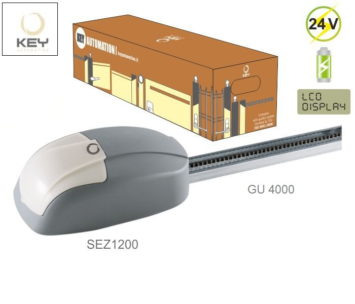 KEY KIT-SEZ124, do 16m2 s vodiacou lištou GU-4000, 1x SEZ-1200